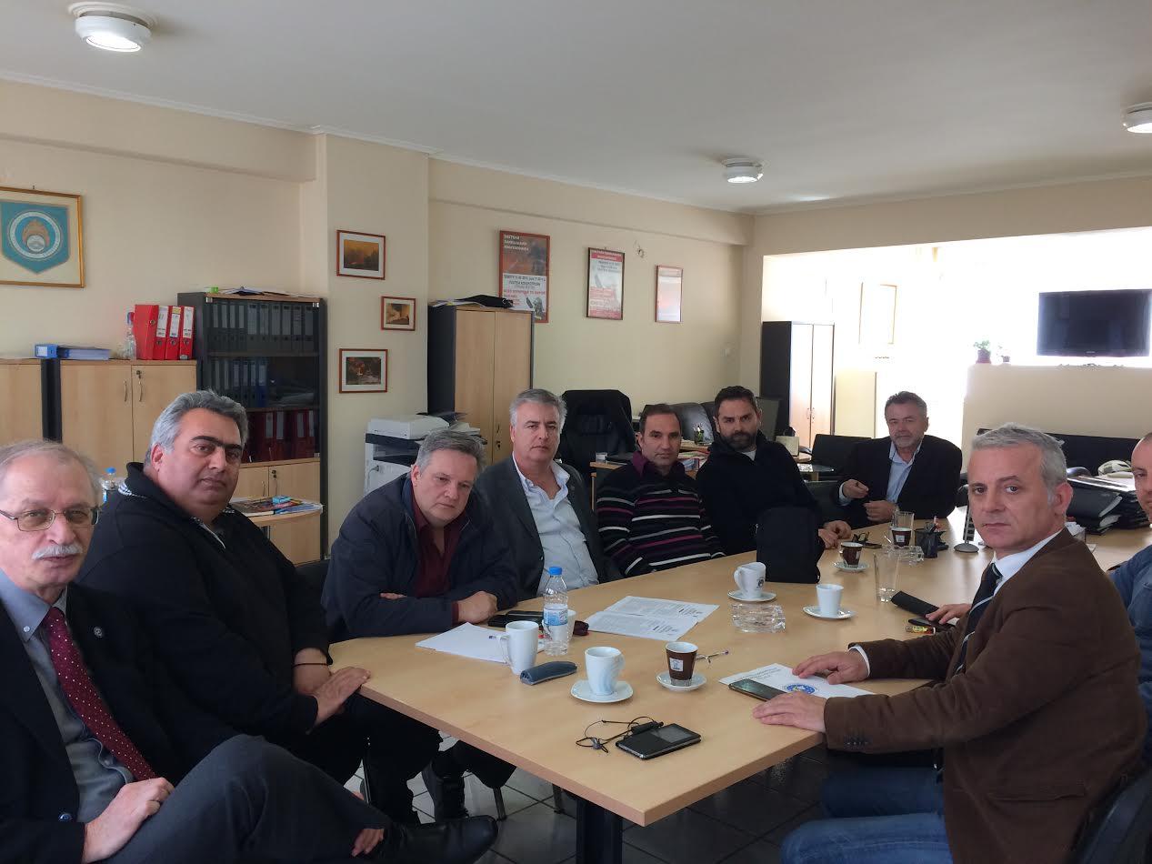 Συνάντηση των Ομοσπονδιών με το Προεδρείο της ΟΣΥΠΑ. (Ομοσπονδία Συλλόγων Υπηρεσίας Πολιτικής Αεροπορίας)