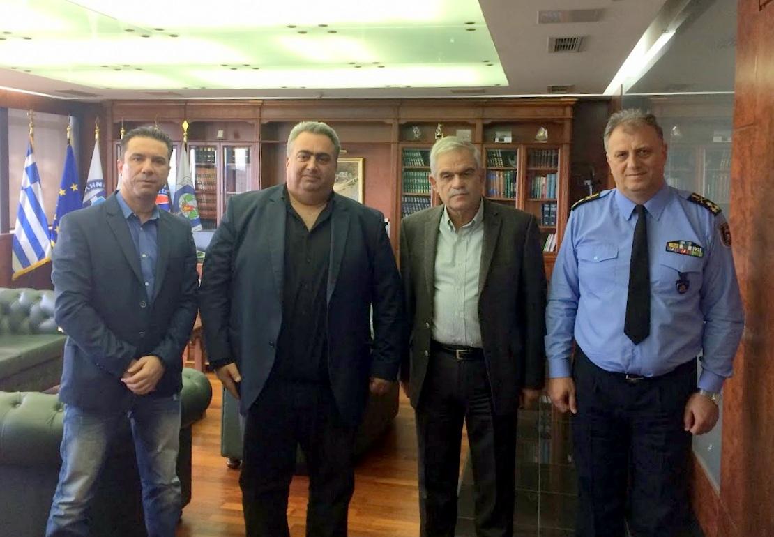 Συνάντηση με τον Αν. Υπουργό Προστασίας του Πολίτη.