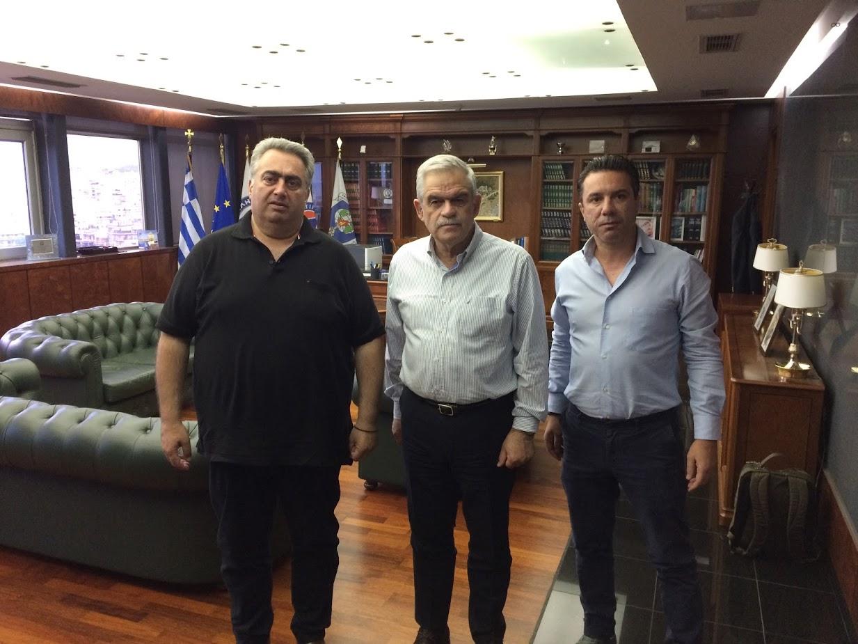 Συνάντηση με τον Αναπλ. Υπουργό Προστασίας του Πολίτη κ. ΝίκοΤόσκα