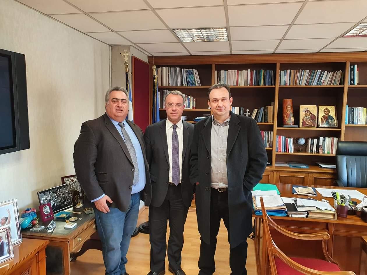 Συνάντηση με τον Υπουργό Οικονομικών κ. Χρήστο Σταϊκούρα »